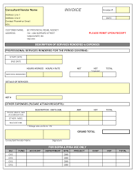 best photos of examples of consulting invoices sample consulting consulting invoice template excel