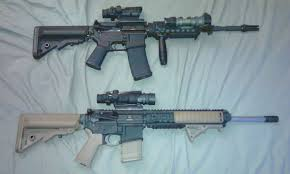 if its your first ar go black second and third ars can be fde or od blacks furniture