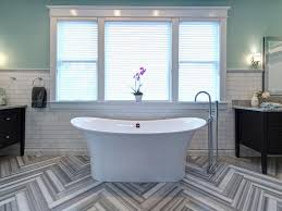 images of bathroom tile  rs joni spear gray black white electic bathroom tub window hjpgrendhgtvcom