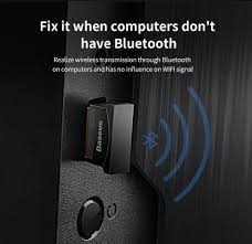 Baseus <b>USB Bluetooth Adapter Dongle</b> For Computer PC Mouse ...