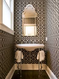 bathroom decor ideas unique decorating: small bathroom designs original geometrics niche interiors bathroom sxjpgrendhgtvcom