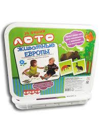 """Игрушка Лото """"Животные Европы"""" для малышей Zabava ..."""