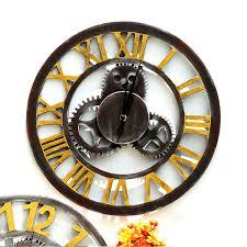 Retro Industrial Style Household Bar <b>Wall</b> Decoration Clock <b>Creative</b> ...