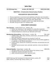 cover letter for general labourer resume formt cover letter examples kickypad
