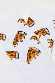 <b>Носки</b> с рисунком - Белый/<b>Пицца</b> - Мужчины | H&M RU
