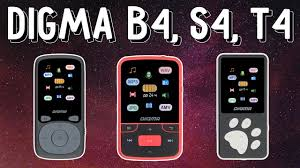 Обзор музыкальных <b>плееров Digma</b> B4, <b>S4</b>, T4. Способные ...