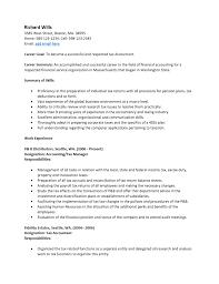 Resume Simple Job Application Dance Resume Objective Work