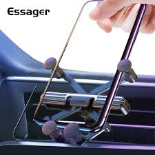 <b>Essager Gravity Car Phone</b> Holder For iPhone Xiaomi Universal Air ...