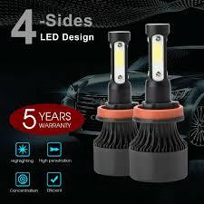 <b>CREE COB H4 HB2</b> 9003 1900W 285000LM LED Headlights Kits Hi ...