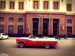 new car release diaryPhoto diary William Coupon in a 52 pink Chevy in Havana The New