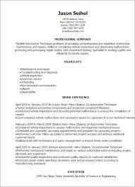 professional automotive technician templates to showcase your    resume templates  automotive technician