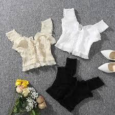 <b>Shintimes</b> 2018 New Summer Autumn Bustier White Black Tank Top ...