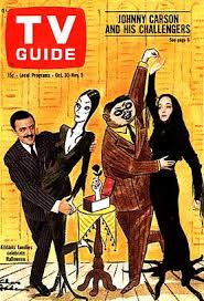 addams family on tv guide cover 1968 addams family set
