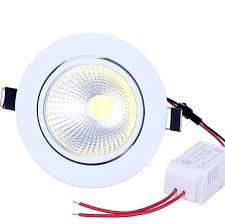 New Dimmable LED Recessed COB Downlight 5W <b>7W 10W</b> ...