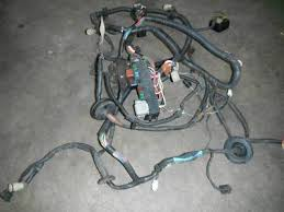 1985 1986 toyota mr2 front trunk wiring harness description 1985 1986 toyota mr2 front trunk wiring harness