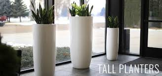 modern planter pots  boxes  stylish plant containers  wholesale