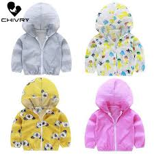 <b>Chivry 2019</b> Children's Hooded Sun Protection Clothing Summer ...