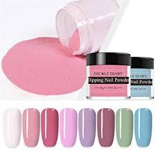 <b>NICOLE DIARY DIP Nails</b> Colour Powder Set Nude Grey Series ...