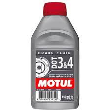 Купить <b>Тормозная жидкость Motul DOT</b> 3 & 4 Brake Fluid 0,5л в ...