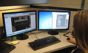 engineering student job shadows garver