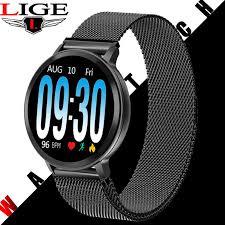 <b>N58 LIGE</b> Women's Smart Watch Health Monitor Heart Rate / Blood ...
