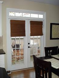 patio doors with blinds between the glass: best blinds for french doors with modern magnetic blinds design