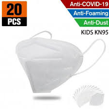 <b>kn95</b> ffp2 <b>kids</b> mask– 4 layer respirator (<b>20pcs</b>) – ipcishop