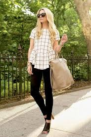 15 Trendy <b>Black</b> & <b>White Summer</b> Outfits   Business casual outfits for ...