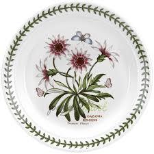 Фаянсовая <b>закусочная тарелка Газания</b> 21 см белый/декор серия ...