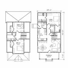 Astonishing Effective Two Story House Plans to Give More Spaces    Architecture Clever Bungalow Floor Plan Two Story House Plans Astonishing Effective Two Story House Plans to