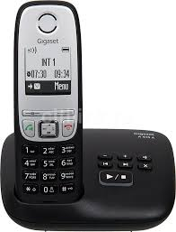 Купить <b>Радиотелефон GIGASET A415A</b>, черный в интернет ...
