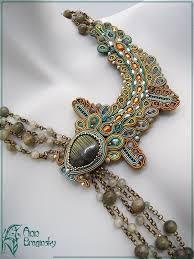 "<b>Ann</b> Braginsky, <b>Ожерелье</b> ""Мутные воды"" | Beaded jewelry ..."