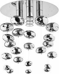 <b>Потолочная люстра Nowodvorski</b> Salva <b>5428</b>, диаметр 35 см, хром