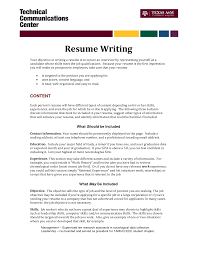writing an effective resume objective cover letter sample for a writing an effective resume objective writing an effective resume career center whats a good objective to