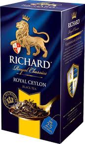 <b>Richard</b> Royal Ceylon <b>черный чай</b> в пакетиках, 25 шт — купить в ...