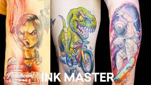 Best <b>New School Tattoos</b> (Mashup) 🦖 Ink Master