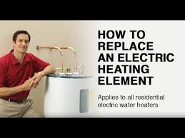 How to Replace an <b>Electric Water Heater Heating</b> Element - YouTube
