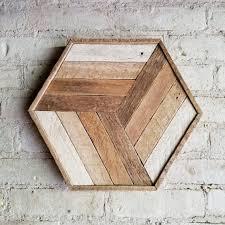 arte de pared de madera reciclada cubo decoracin degradado listn 12 artistic wood pieces design