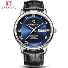 2016 Luxury Brand <b>Carnival Automatic Mechanical Watches</b> Men ...