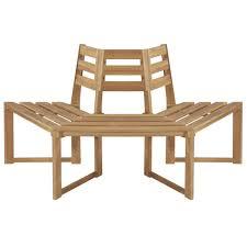 <b>Tree Bench Halfhexagonal</b> 160 cm Solid Acacia Wood Sale, Price ...