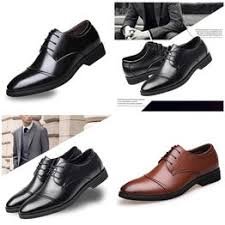 High Quality Men's Leather Shoes Brock Fashion Business ... - Vova