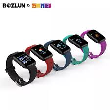SKMEI BOZLUN <b>New</b> Smart Digital Watch Body Temperature ...