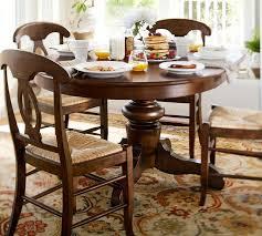 barn kitchen table tivoli extending pedestal table amp napoleon chair  piece dining set pottery barn