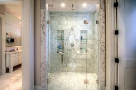 bathroom niches: his and hers shower niches view full size