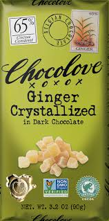 <b>Ginger</b> Crystalized in <b>Dark</b> Chocolate - Chocolove - Premium ...