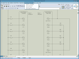 Drawing Electric Circuits Constructor Software Draw Electrical Ladder Diagrams
