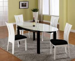 Black And White Kitchen Table Modern Dining Table Modern White Dining Tables Modern Dining