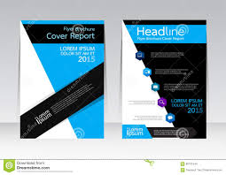 cover design for brochure leaflet flyer creative concept cover vector design for cover report brochure flyer poster in a4 size stock images