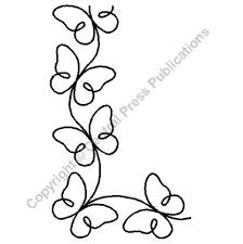 "<b>Continuous</b> Line Quilting Stencils > 3"" - 4"" <b>Border</b> C.L. - Item: 3.5"" on ..."