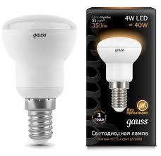 Светодиодная <b>лампа GAUSS 106001104 REFLECTOR</b> R39 LED ...